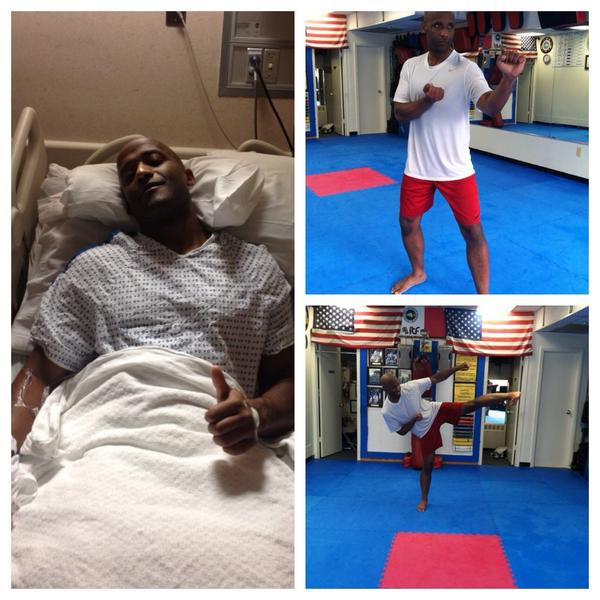 1 yr ago 2day I had emergency surgery. Doc said I would die frm #cancer if I didn't. Now I'm living life. God is good http://t.co/BwDzb2MFAU
