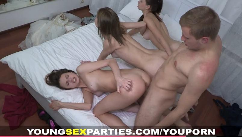 Asian bachelorette party sex