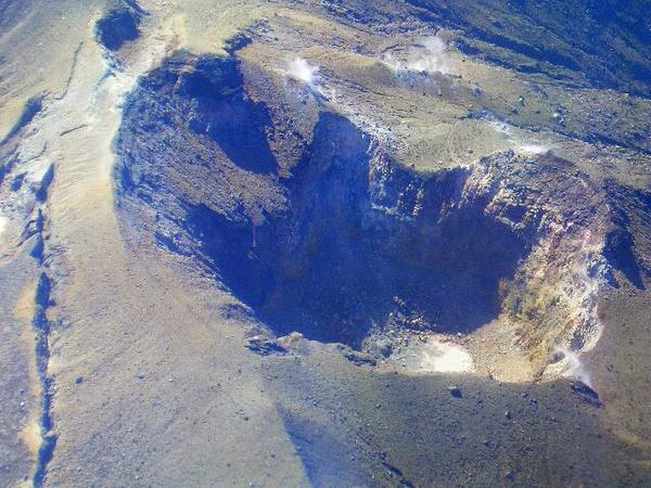 FOTO Cratere Vulcano Monte Shindake in Giappone prima dell'eruzione di oggi 29 maggio 2015