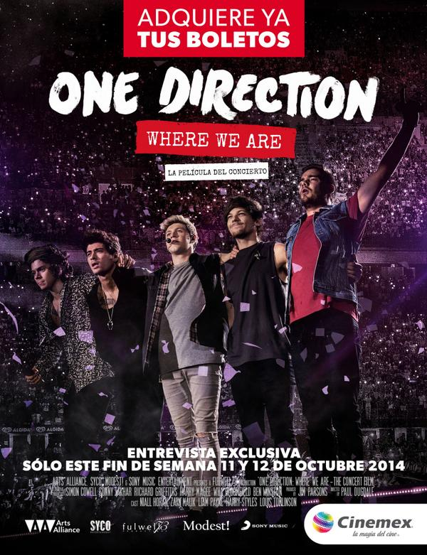 Fans de @onedirection tenemos algo para ustedes.    RT Directioners! → http://t.co/HYiTDebDpl