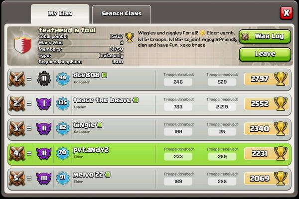 Clash Of Clans On Twitter Dillardtobias Yes Join Us On The