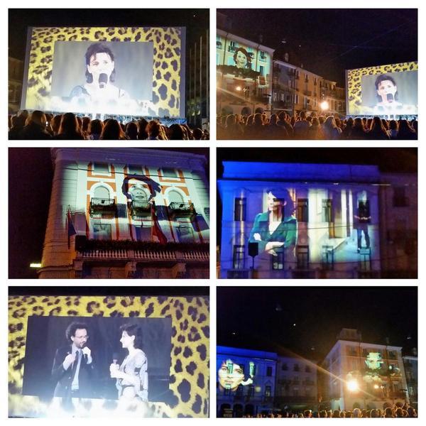 Piazza Grande accoglie una emozionata Juliette binoche #locarno67 festival internazionale del film @FilmFestLocarno http://t.co/cljAwTD0U1