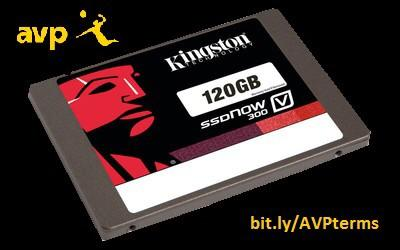 For those not at @avpbeach this weekend, we still have prizes for you. RT and follow for a chance to win a 120GB SSD http://t.co/55suA9EDOM