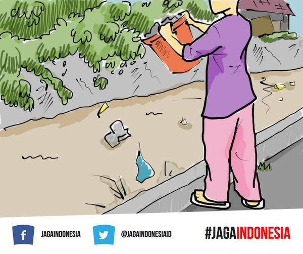 Jaga Indonesia On Twitter Apa Sih Yang Akan Kamu Lakukan Kalo Kamu Ngeliat Orang Buang Sampah Sembarangan Di Kali Kayak Gini Http T Co Gmde8rpqjr