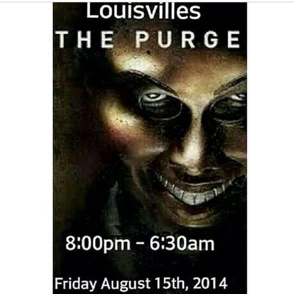 Have you heard of this? #Louisville police prepare for 'The Purge': http://t.co/g2hCkQkmD2 http://t.co/Bc5bTFZhNh
