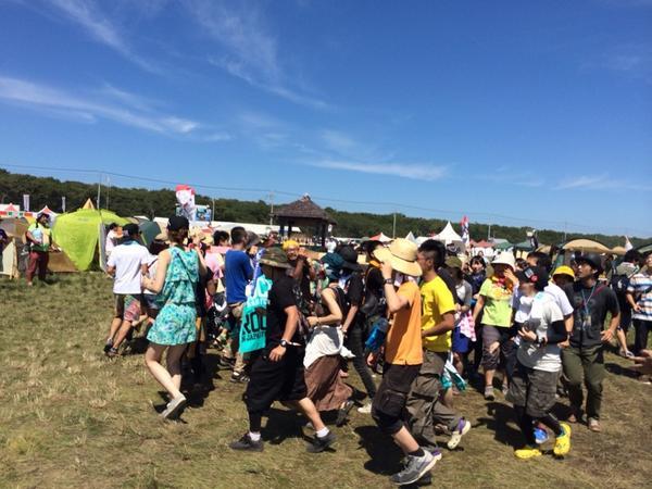 祭り太郎でサークル発生(笑) http://t.co/V1m4xbptZN
