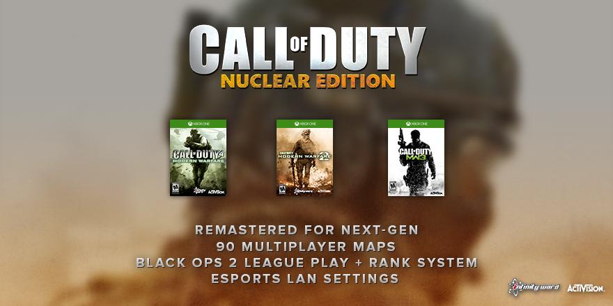 Saldra una Remasterizacion de Call of Duty© MW2 y MW3
