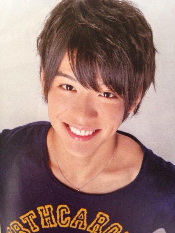 笑顔の松島聡