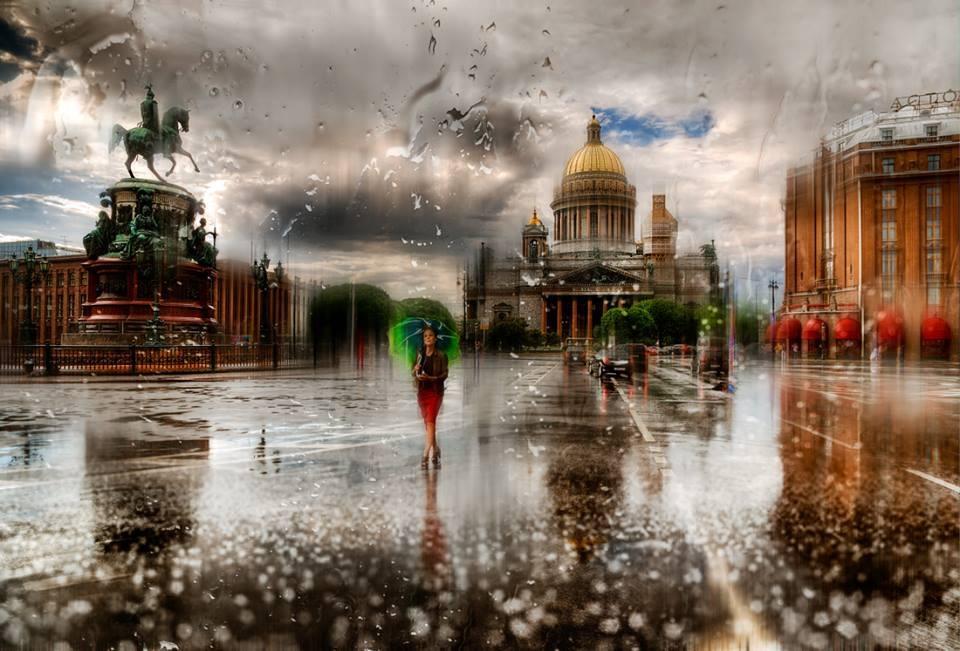 Картинки в петербурге дожди, днем святого валентина