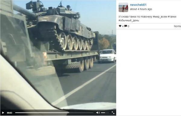 Российские военнослужащие и террористы готовятся к приезду представителей ОБСЕ в Новоазовск - прячут свою новую технику, - СНБО - Цензор.НЕТ 6874