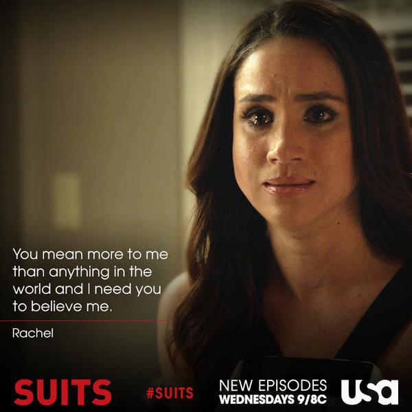 Rachel cheats mike suits on Does anybody