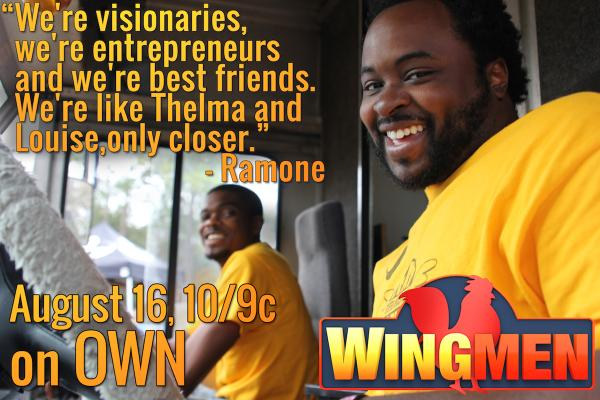Tonight's the night! #Wingmen premieres at 10/9c on @OWNTV. RT if you'll be tuning in. http://t.co/72zOY7qkMC