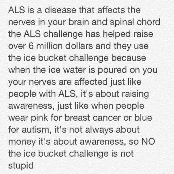 Why do the #ALSIceBucketChallenge? http://t.co/Yoc90euT8t http://t.co/YbWg1owxSm