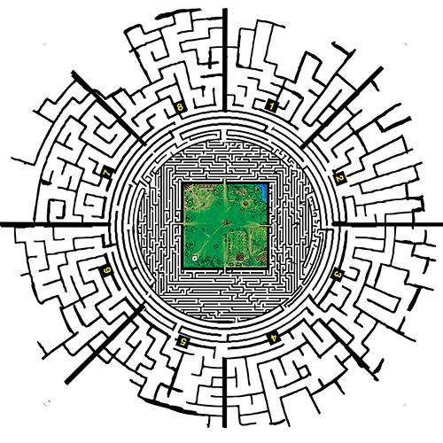 how to draw the maze from the maze runner