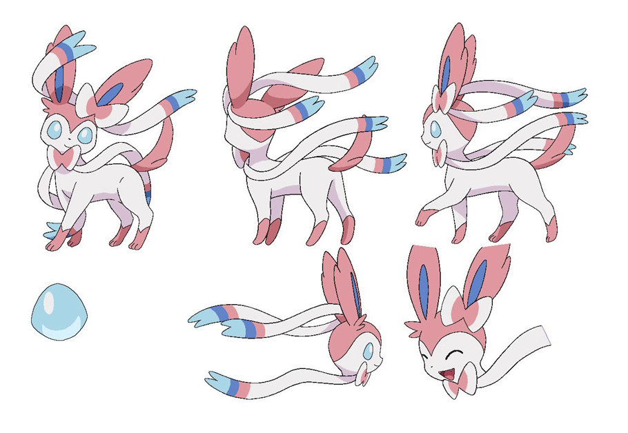 Aleph On Twitter Quot Quot Sylveon Quot Character Model Sheet From