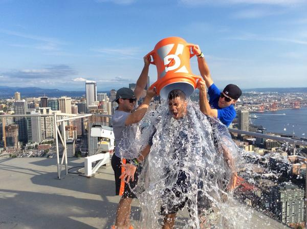 Best #IceBucketChallenge ever by our own @DangeRussWilson! http://t.co/YH6q8rRyyl