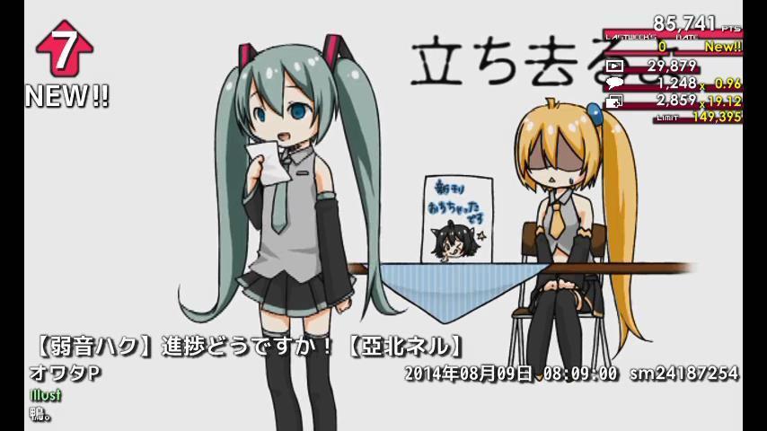 週刊VOCALOIDとUTAUランキング #358・300 [Vocaloid Weekly Ranking #358] BvNoJBxCYAADCFJ