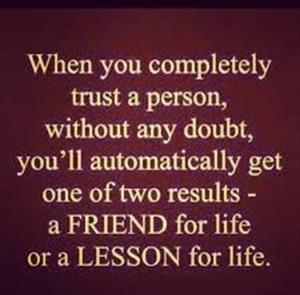 Friend for life, or a lesson for life. http://t.co/jzs7i6Z6vw
