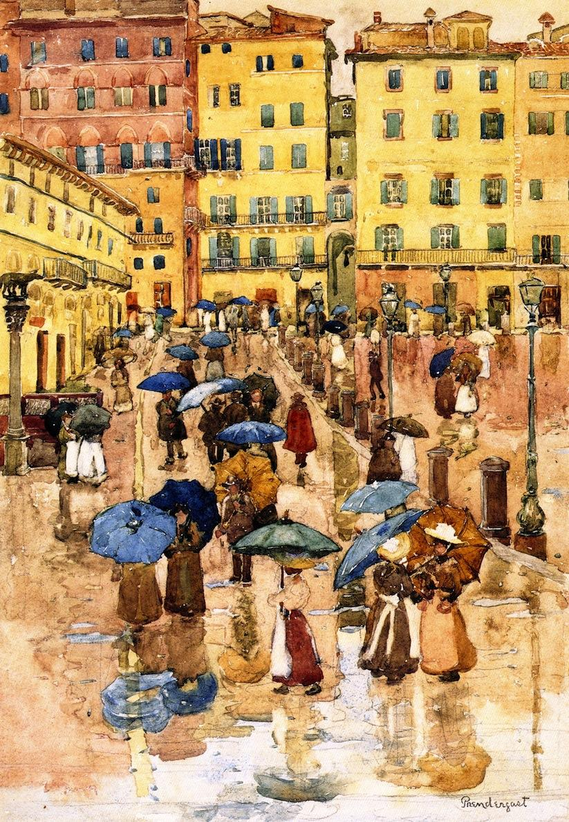 Rainy Day, Sienna