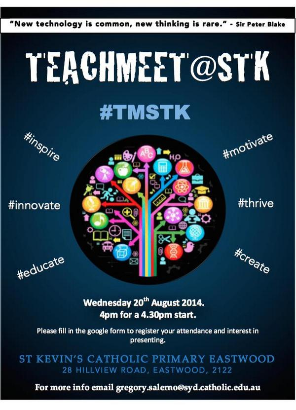 """@KorenIrving: theres one on wednesday  #aussieED #edchatnz"" http://t.co/8SGq1Hm6Dk"