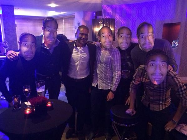 Where is the real @glen_johnson??? #surprise #birthday @LucasLeiva87 @SebastianCoates @Phil_Coutinho @borinifabio29 http://t.co/WVXQNqY25j
