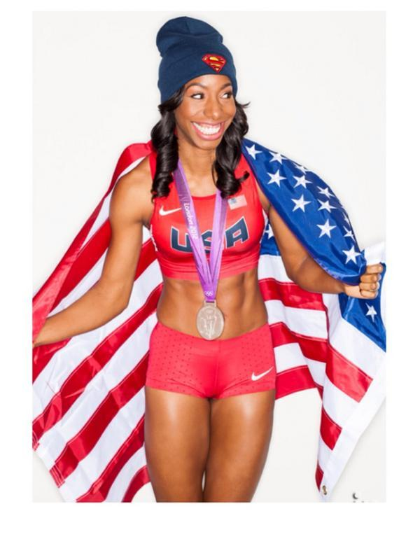 #Follow & show some love to my #USAOlympian girl @Heir_Borne She's a #WorldClass #Athlete & #Person! By @jovan_haye http://t.co/4glIKSgOz0