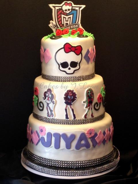 Cakes By Jleon On Twitter Monster High Birthday Cake Jiya Who Was