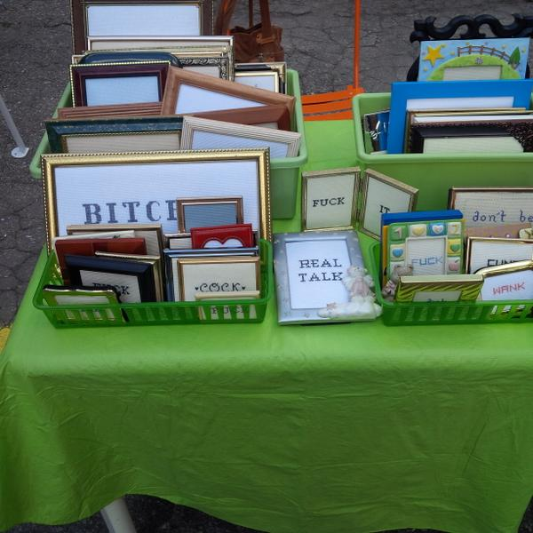 I'm selling my @CrassStitches today at the weekend vendor market. 1630 Dundas St W. Between #Lansdowne + #Dufferin! http://t.co/tpvqJVCf9b