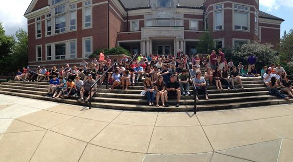 Thumbnail for Elizabethtown College Fall Orientation and Move-in 2014 - Welcoming the Class of 2018