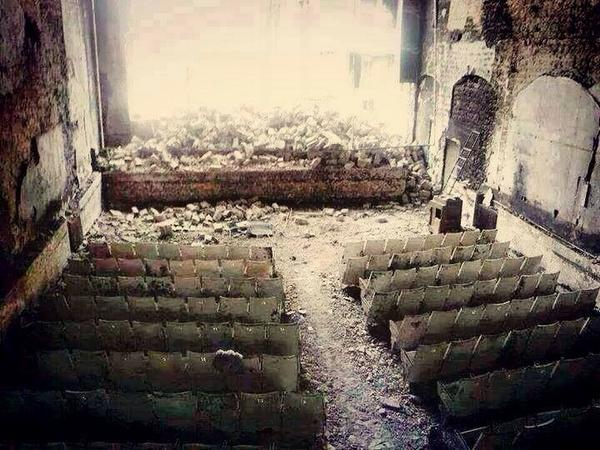#cinema theater in #syria http://t.co/8I6LEYtdsX