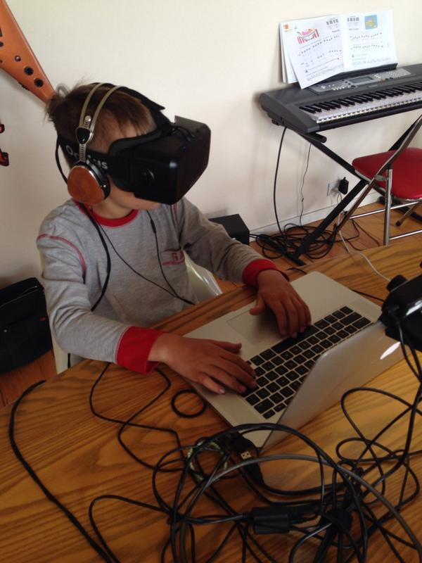 my ten and seven year olds take virtual carnival rides over and over using @oculus http://t.co/oKRWVuJR6m