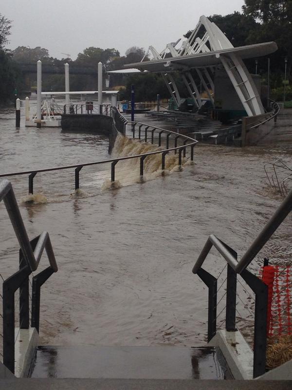 parramatta weir flooding