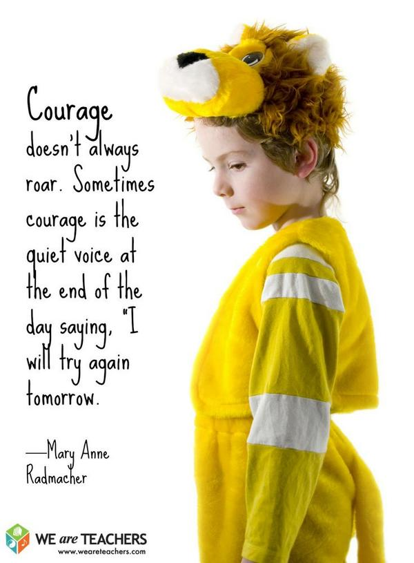 What I told my daughter this morning RT @WeAreTeachers: So true ...  #quote #edchat #ntchat http://t.co/DGokArMc37
