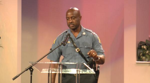 "Capt. Ron Johnson: ""I am you. I will protect you, I will protect your right to protest."" #Ferguson http://t.co/ageyMHwLzO /via @heykim"