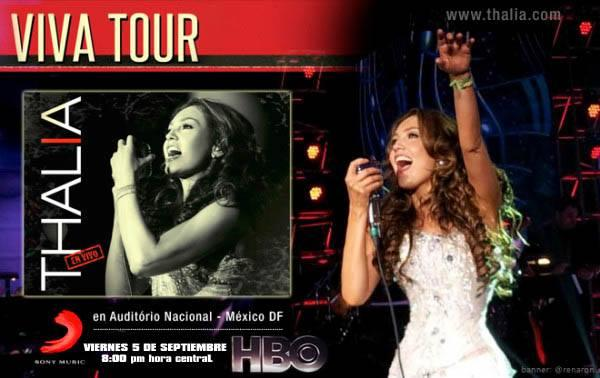 Don't miss #VivaTour @Thalia, for the first time on TV.Fri 5th, September, 8pm central on #HBO http://t.co/T9CPaVSngI http://t.co/nrFDy6ILaf