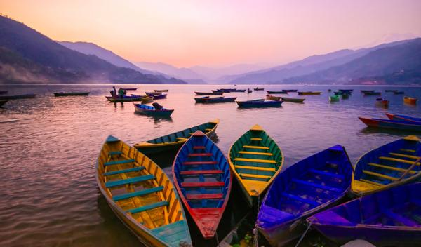 Places we'd rather be on a Monday: 1) Watching the sunset over Phewa lake, Pokhara, #Nepal #ttot #bluemonday http://t.co/F7Fi89WEi3