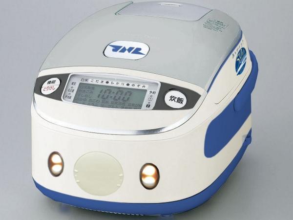 【ニュース】JR東海が東海道新幹線開業50周年を記念して、開業当時の車両0系を模した炊飯器を発売。価格は24,800円で、炊き上がり時に車内チャイムが流れるなどの機能がついている。  bit.ly/1w0Z9Bw pic.twitter.com/wJl0xzA0Lu