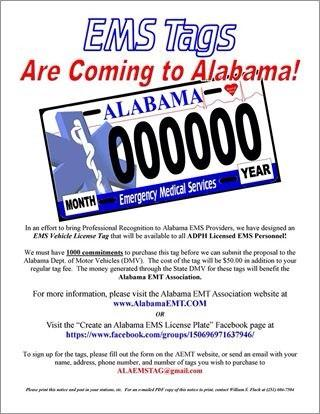 """Alabama EMS Assoc on Twitter: """"Sign up for your Alabama EMS tag today at http://t.co/nUFfoPPLJ7 http://t.co/8b2NXtwbRz"""""""