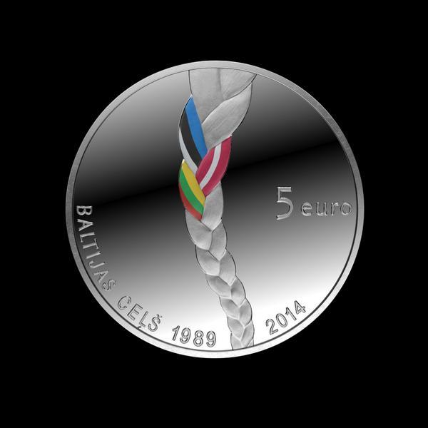 Latvijas Banka laiž apgrozībā Baltijas ceļa 25. gadskārtai veltītu kolekcijas monētu  http://t.co/WtuWpau2gK http://t.co/DcZAr57r2e