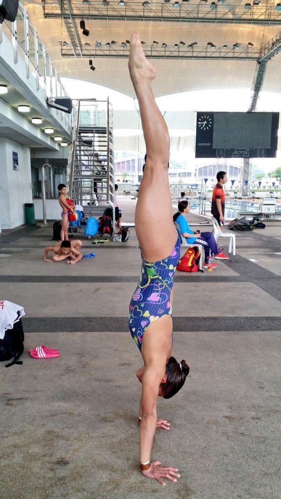 "Champ! @FitMalaysians ""@Pandelela_R: Training hard everyday for the nation. #athlete #diving #FitMalaysia http://t.co/QPcxHGQQRt"""