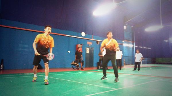 #Badminton improves cardio respiratory fitness, sense of well being, mood & self esteem. #FitMalaysia @Khairykj http://t.co/f9zZ6krVFi