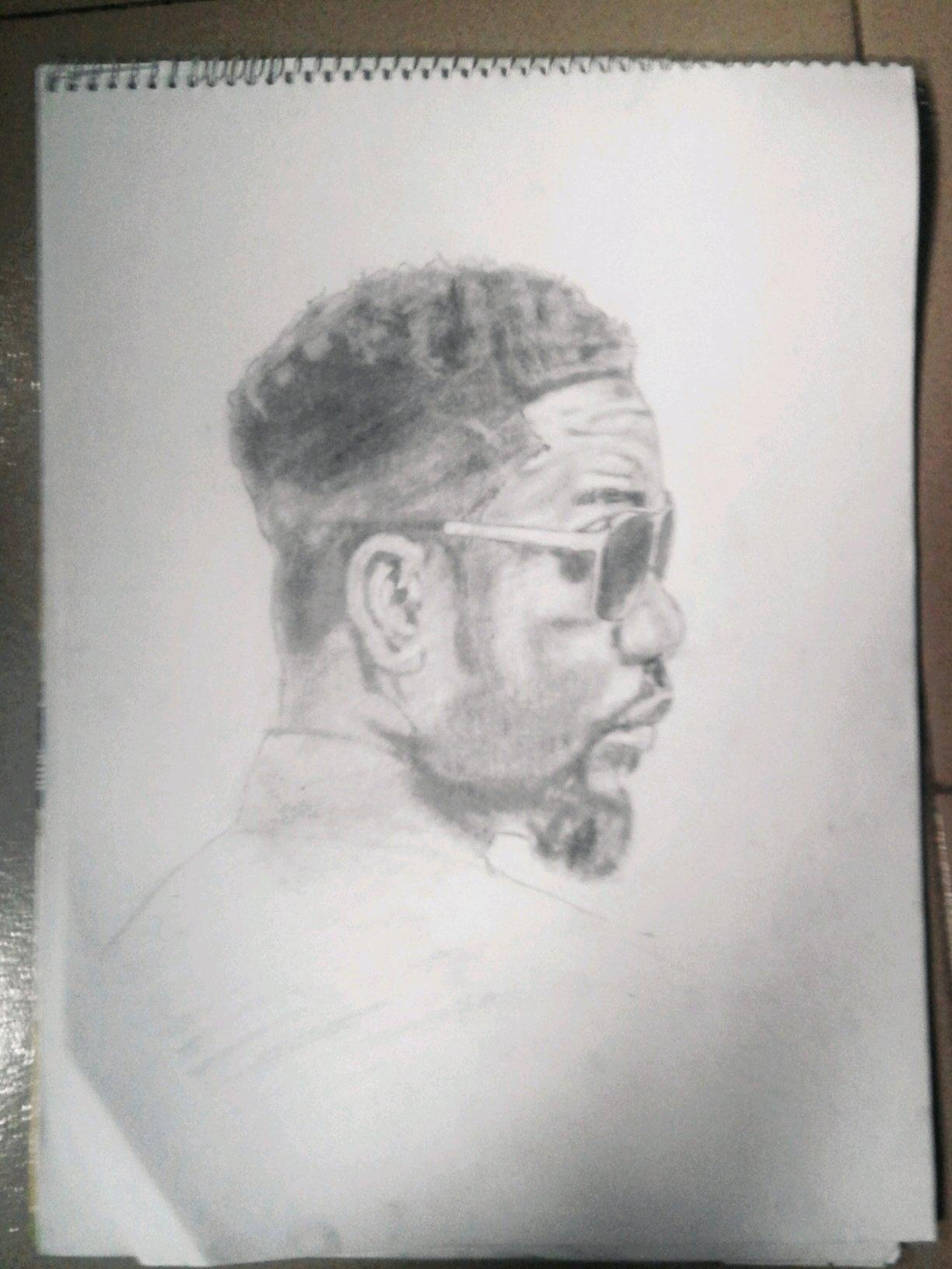 Femzi lamarr on twitter pencil drawing of sarkodie http t co qb7ztvijgd