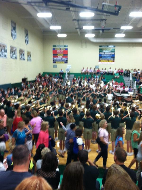 #dubchat best part of convocation enjoying the band celebrating start of 14-15 school year http://t.co/TOgFhxg2QD