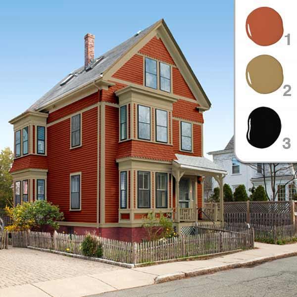 This Old House On Twitter Picking Exterior Paint Colors For A