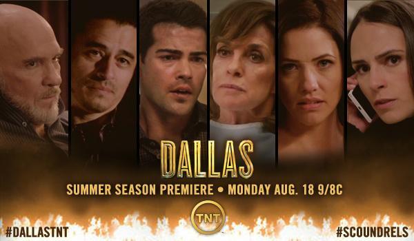@Dallas_TNT returns TONIGHT! 9pm on @tntdrama. Live-Tweeting the East & West coast telecasts! #DallasTNT http://t.co/494XLHjqrJ