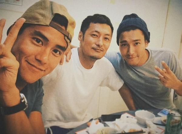 Photo of Shawn Yue  & his friend