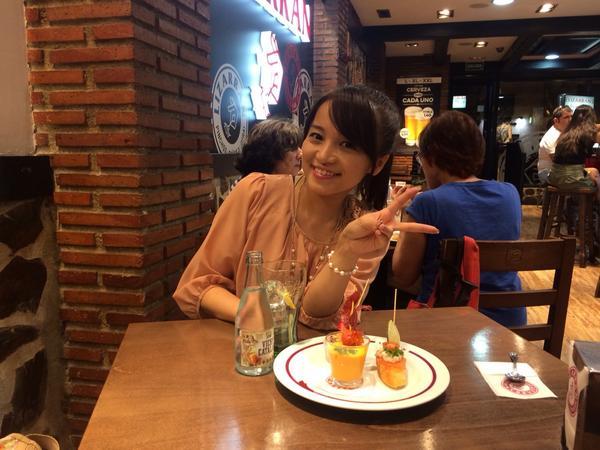 美味しそう( ´ ▽ ` )  RT @tomomi_kuno: ピンチョス!!  #パセオ #JTB鉄旅ガールズ http://t.co/qReCeWuNmu