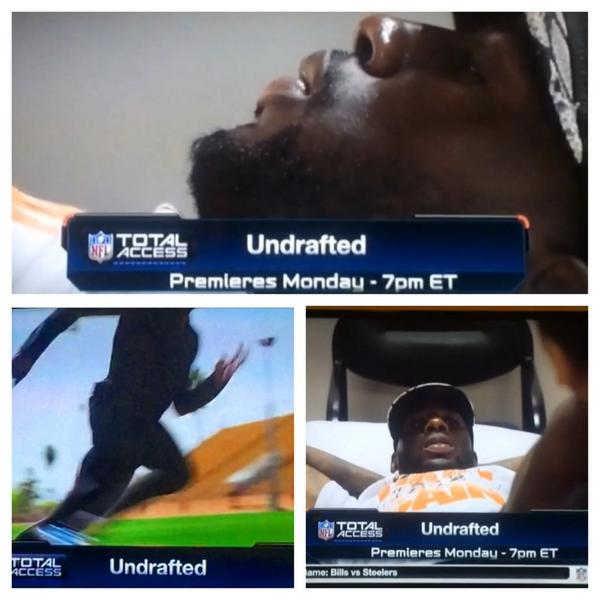 """Tune in tonight  at 7pm EST on @nflnetwork a promo segment of the series """"Undrafted"""" d @gregauman @davidcanter http://t.co/NCo9TZlSAk"""