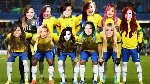 Quantos votos esse time merece?  How many votes this team deserves hahaha Brazil love you @ddlovato #votedemilovato http://t.co/RmAWtYWwJe