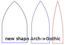 New Shape Arch Gothic